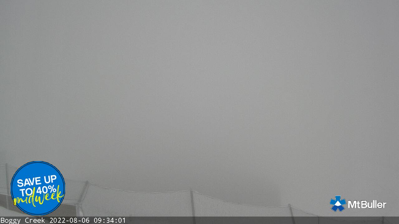 Bluff View Snow Cam, Mt Buller