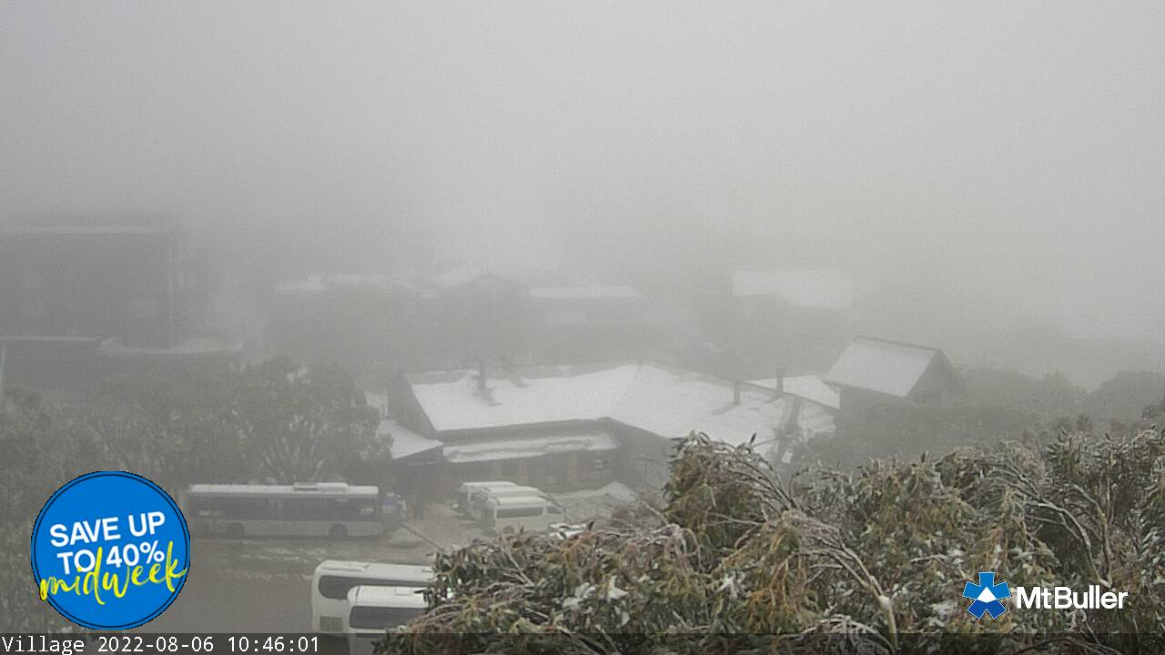 Village Snow Cam, Mt Buller